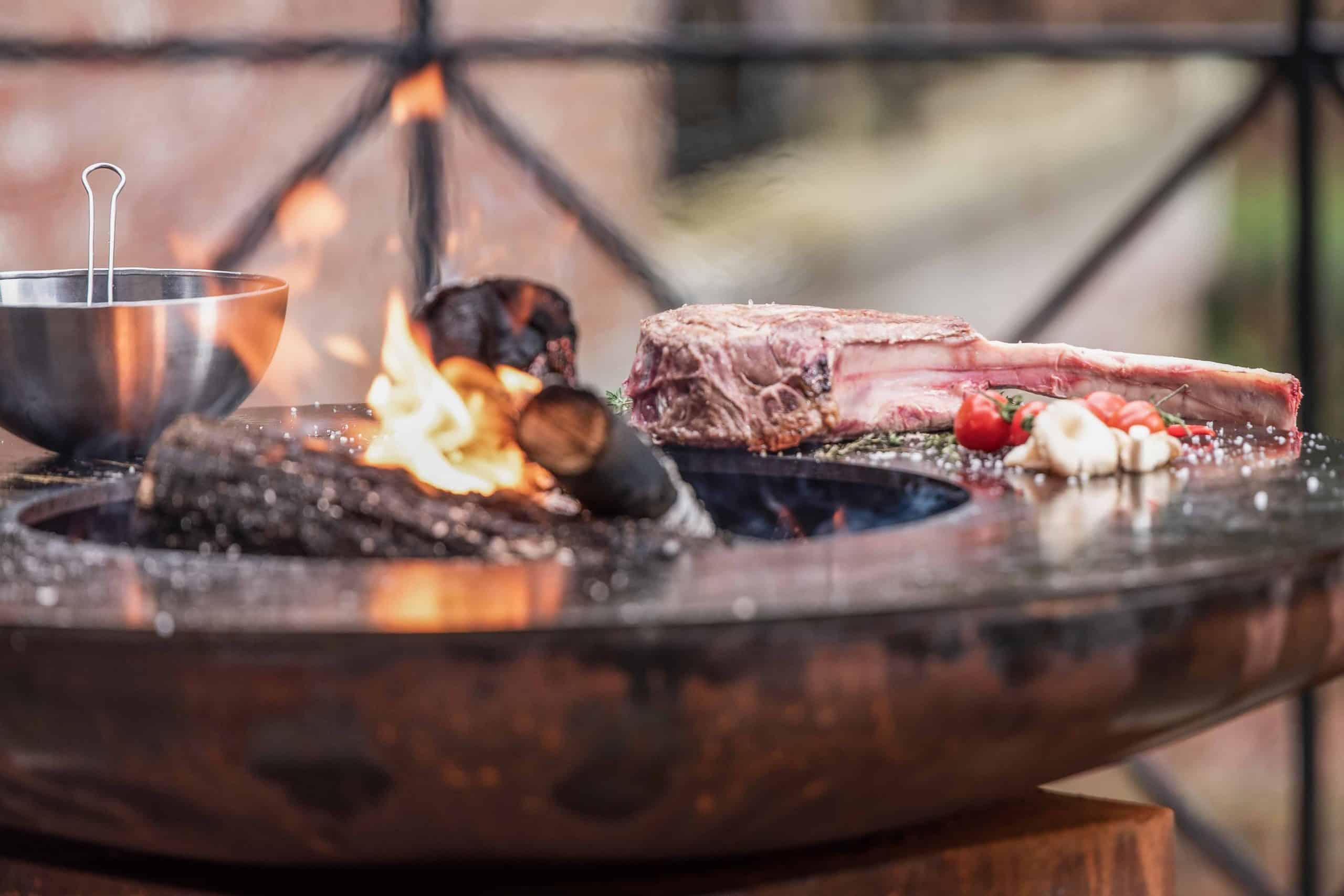 Weilandshof BBQ barbecue rund