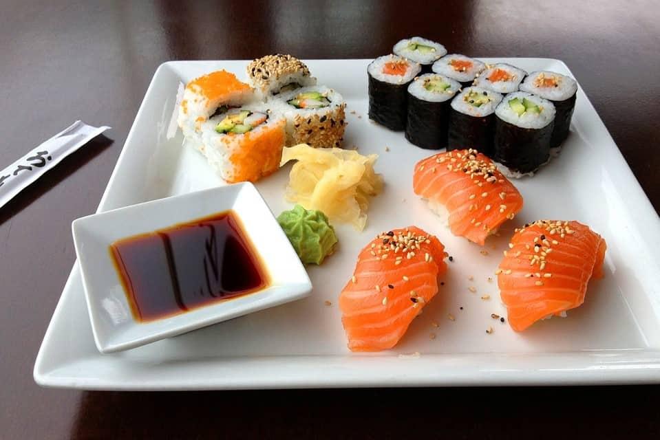 receptiehapjes weilandshof sushi
